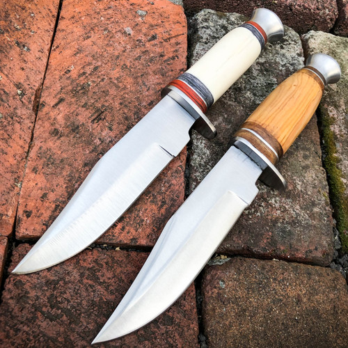 fixed blade skinning knife