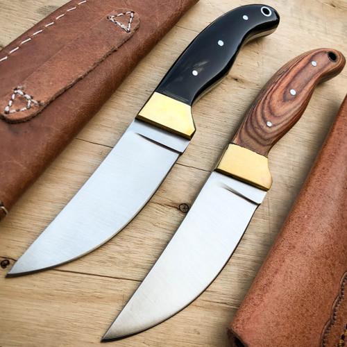 "7.5"" Hunting Tactical Skinner Survival Skinning Fixed Blade Knife Full Tang NEW"