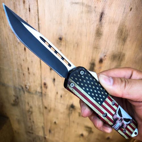 punisher otf knife