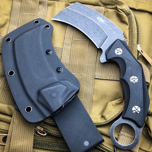"8.5"" Heavy Duty Raptor Claw Karambit Talon Fixed Blade Hunting Survival Knife"