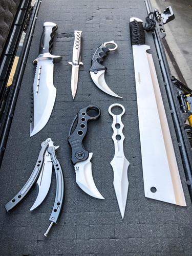 7PC Tactical Knife Set