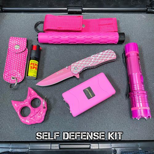6PC Self Defense Pink Kit