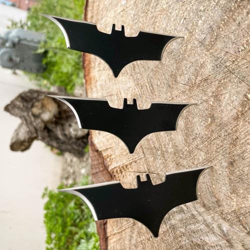 3PC Batman Throwing Bat Knives