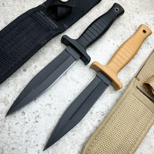 """9"""" TACTICAL COMBAT BOOT KNIFE Survival Hunting MILITARY Fixed Blade"""