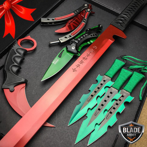 ** SPECIAL EDITION Christmas Set 5 PC Elite Knife Set **