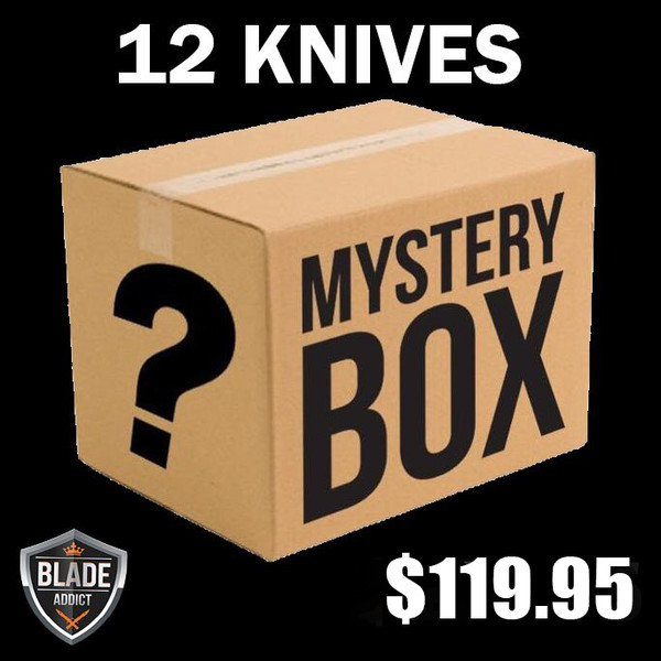 MYSTERY KNIFE PACK (12 KNIVES)
