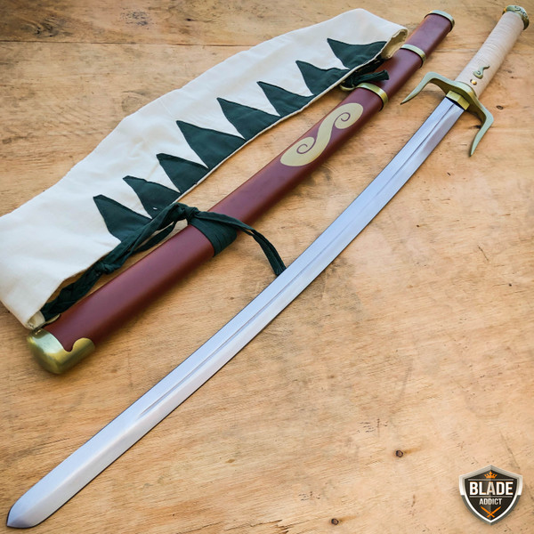 "39"" Japanese Anime Samurai Champloo Mugen Typhoon Sword Swell Katana Blade NEW"