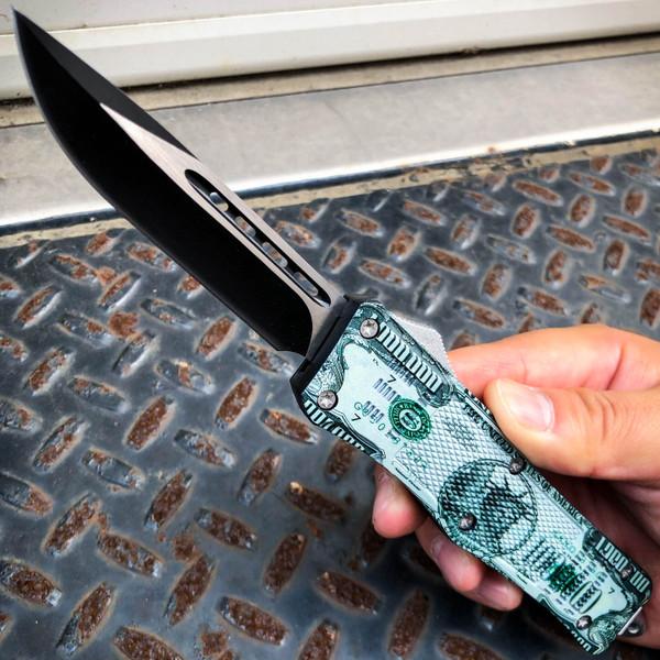 "Million Dollar ""Balller"" OTF Pocket Knife"
