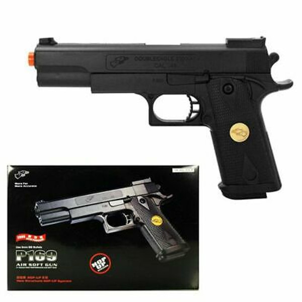 P169 Airsoft Gun 260 FPS Spring Pistol Handgun with Functional Safety and Reinforced Material