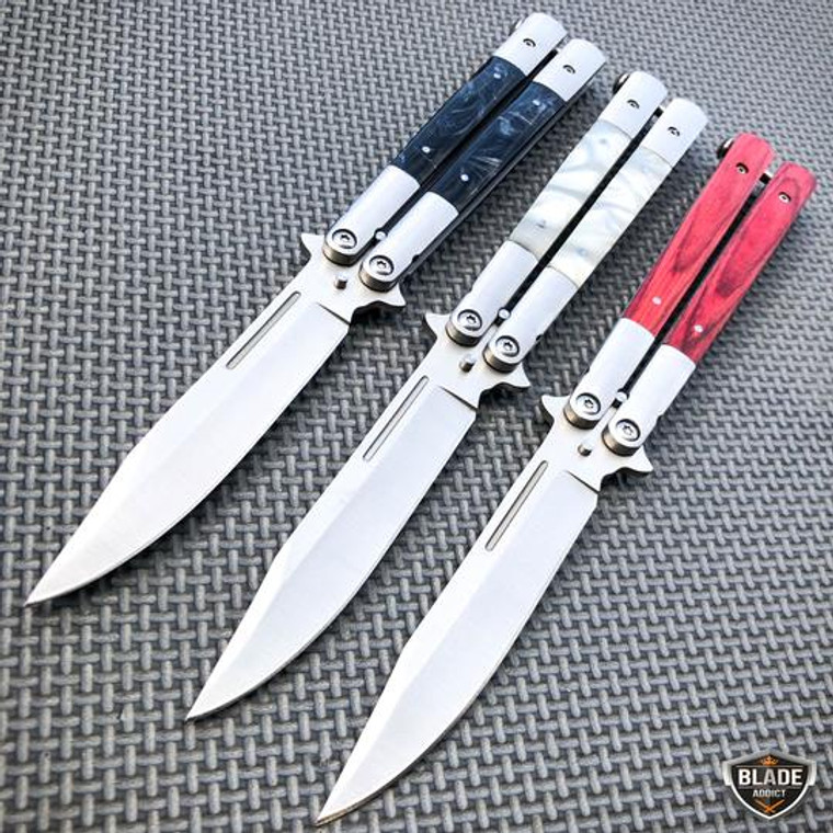 Tactical Balisong Butterfly Knife