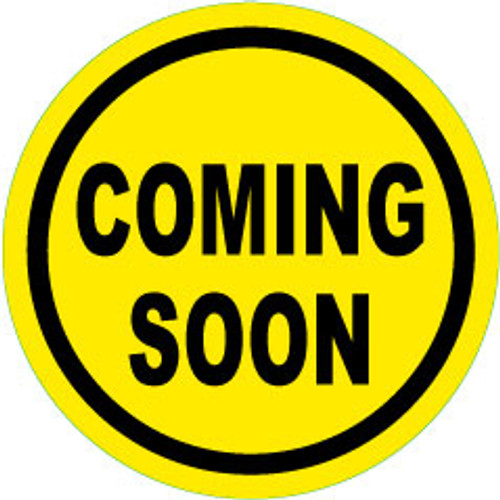 Coming Soon 10 inch Round Rider Black and Yellow