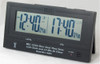 MFJ-148RC, Dual Time LCD Clock, Radio Controlled, Atomic With GMT Zone, 10 Minute ID Timer