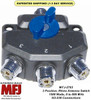 MFJ-2703, 3 Position Antenna Switch, DC- 800MHz, 1.5 KW Gold Plated Contacts