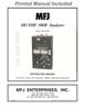 MFJ-259D, SWR Analyzer, HF/VHF