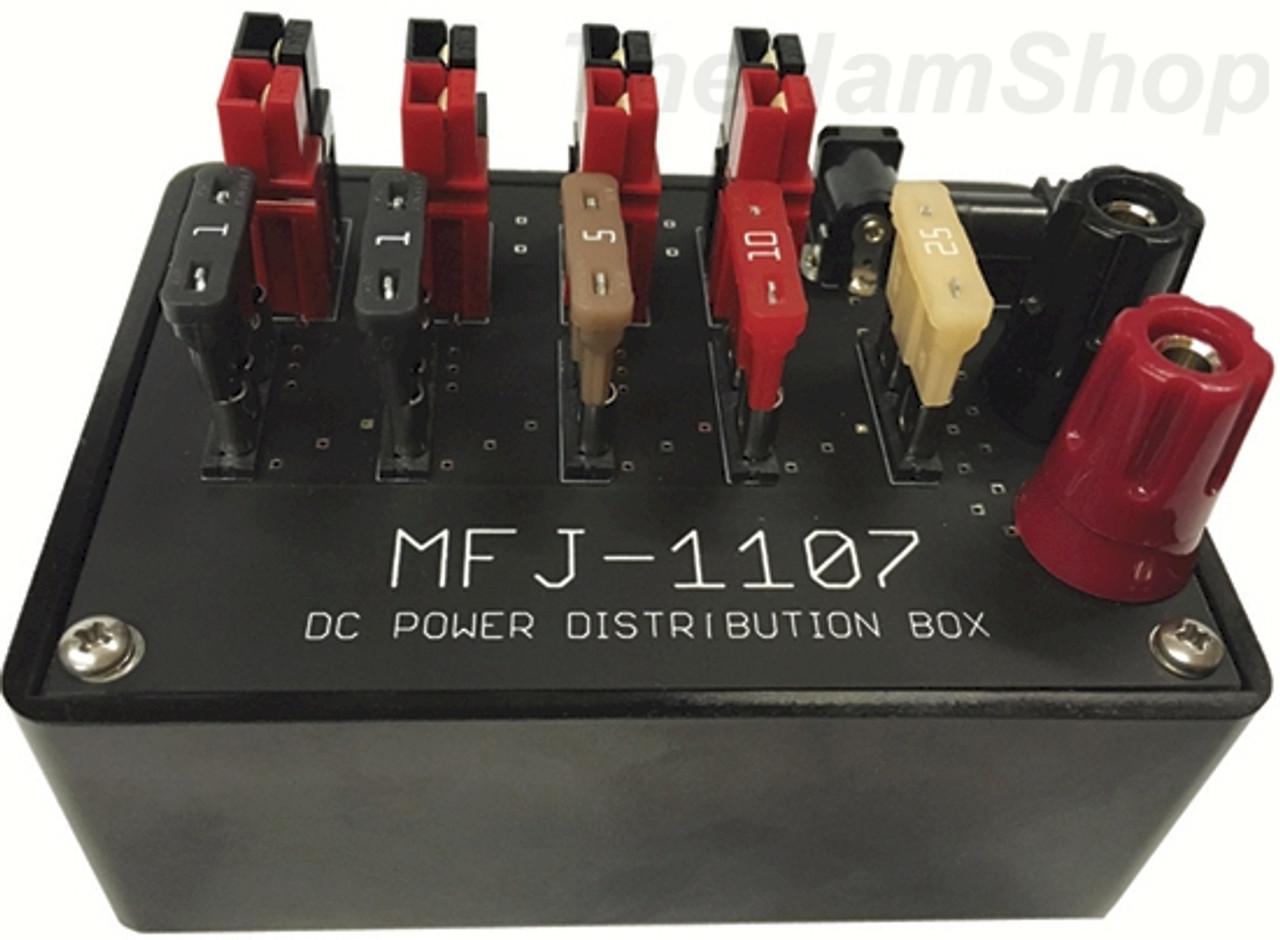 MFJ-1107 PowerPole, Power Distribution Box