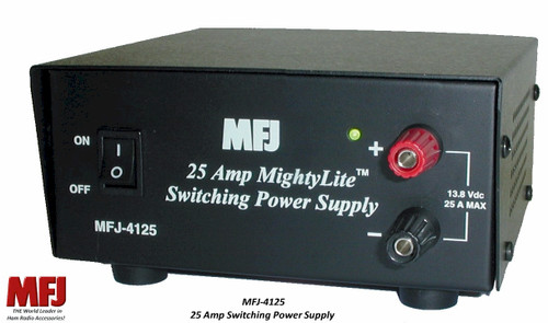 MFJ-4125, Switching Power Supply, 15 AMPS