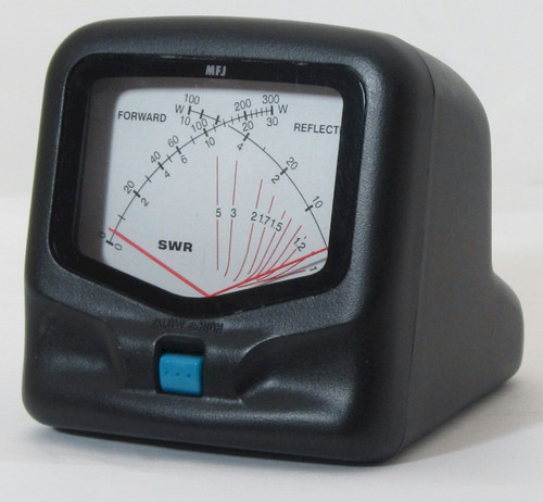 MFJ-822, SWR/Watt Meter, HF/VHF, 1.8 - 200 MHz, 300 Watts Mobile