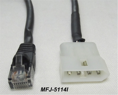 MFJ-5114I, Interface cable For Icom Radio And The MFJ Automatic Tuner MFJ-939 And Others