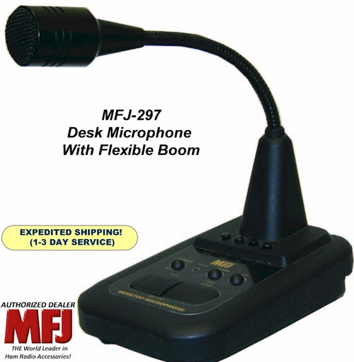 MFJ-297, Desk Microphone