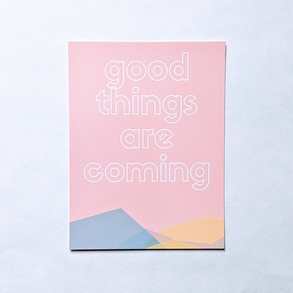 Postcard - Good Things