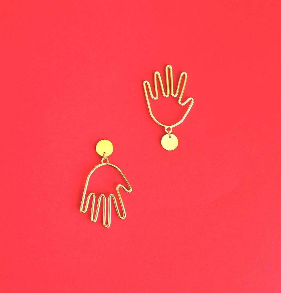 Las Manos Earrings