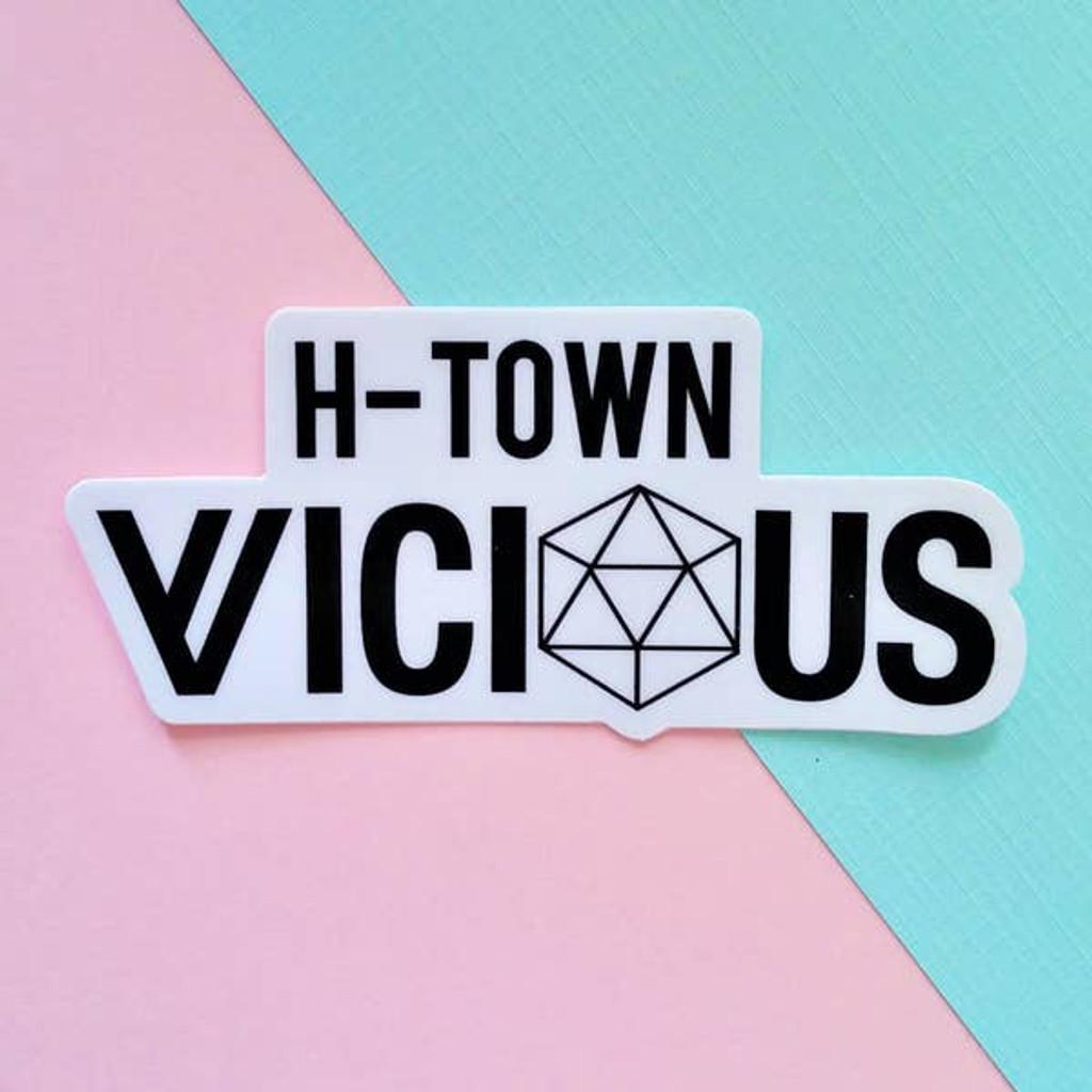 H-Town Sticker