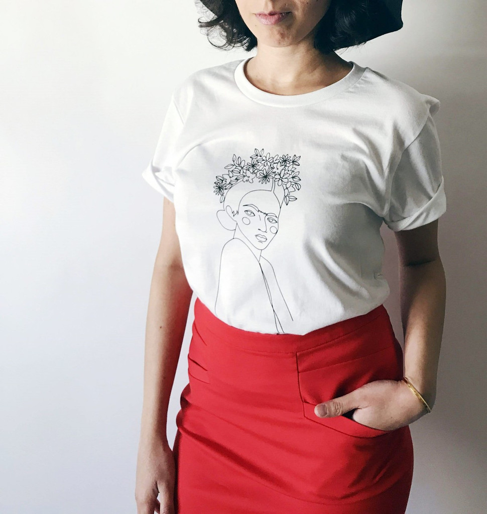 SOLD OUT Frida Figure Tee