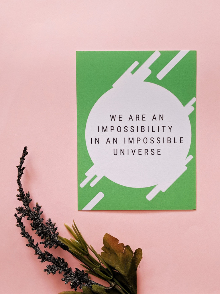 Impossibility Postcard