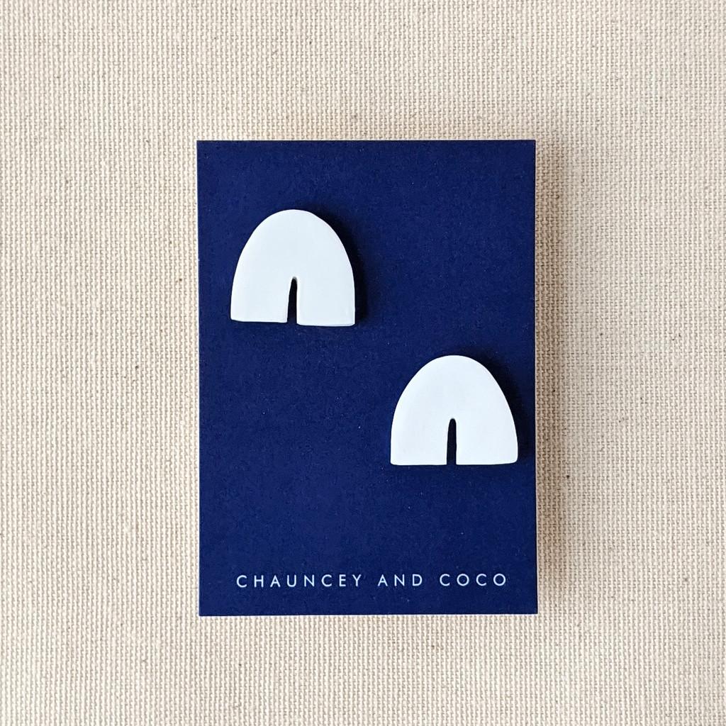 Clay Arch Earrings /  The Mini