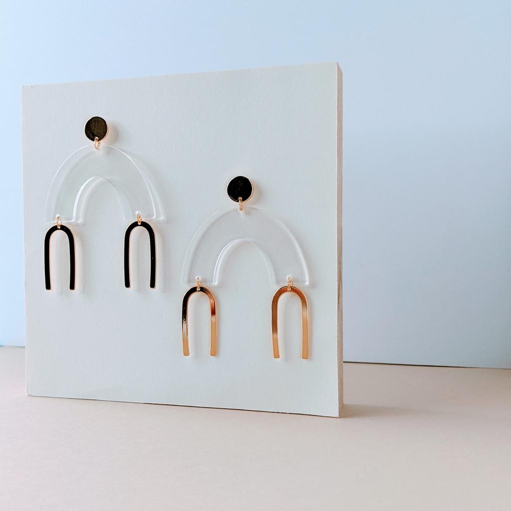 Float Arch Earrings