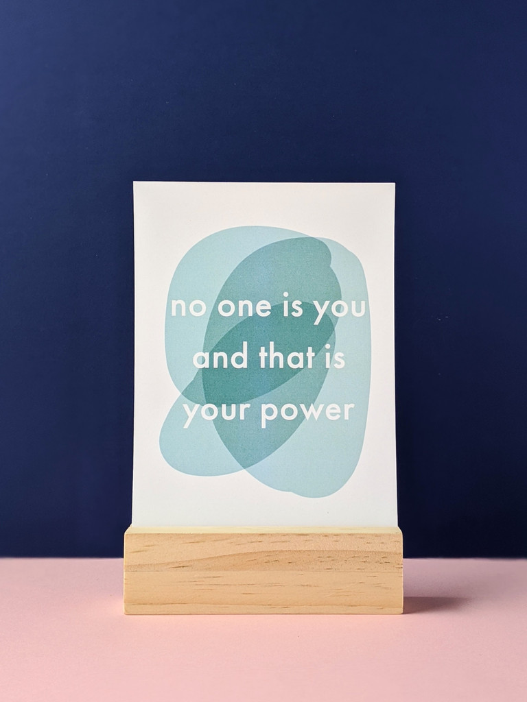 Hold the power Art Print