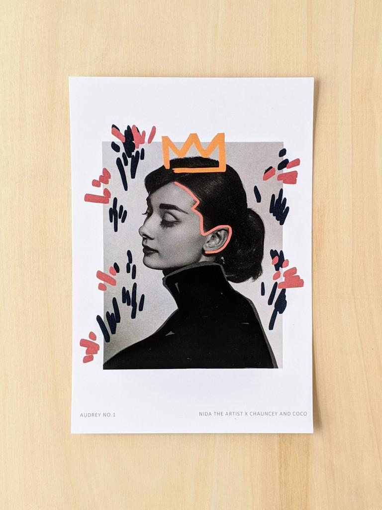 Audrey No. 1 Art Print
