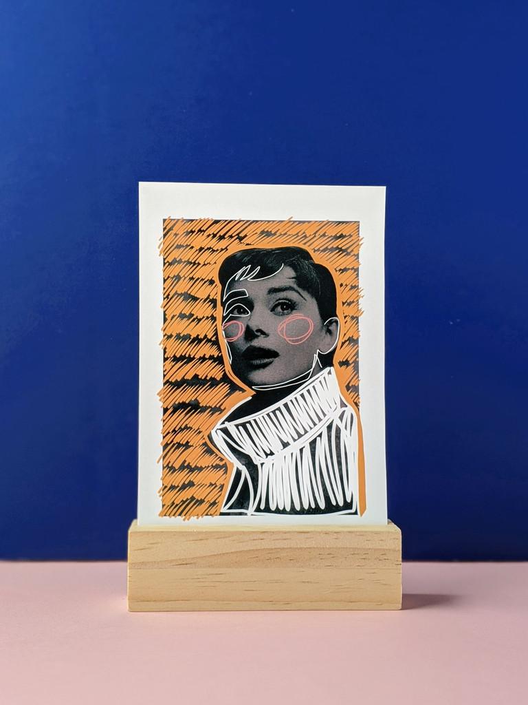 Audrey No. 3 Art Print