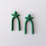 Jade Green Clay Totems