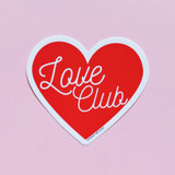 Love Club Heart Sticker