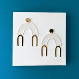 Float Arch Earrings