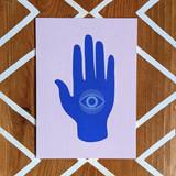 Hamsa Hand Art Print