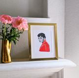 Audrey No. 4 Art Print