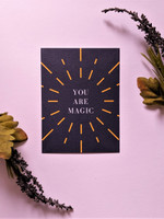 You Are Magic Postcard