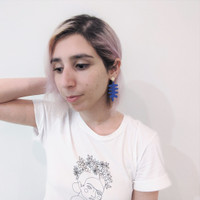 Les Fauves Leaf Earrings