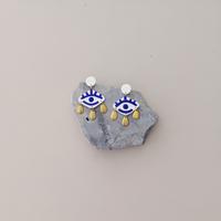 The Oracle Clay Eye Earrings