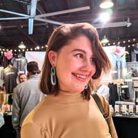 Link Up Acrylic Drop Earrings - Mint