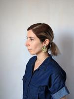 Poppy Field Abstract Earrings