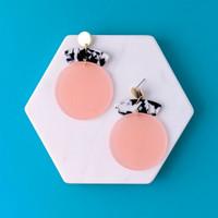Ardour - Stacked Acrylic Earrings