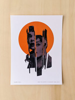 Audrey No. 2 Art Print