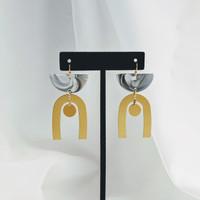 Rhodes arch earrings