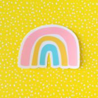 Rainbow Sticker - Clear
