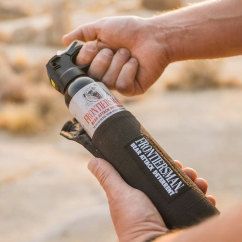 SABRE Frontiersman <strong>Bear Spray Recall:</strong> <span>TEST YOUR CANISTER</span>