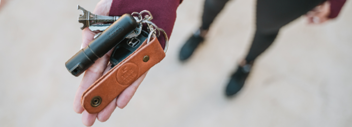 every day carry key ring