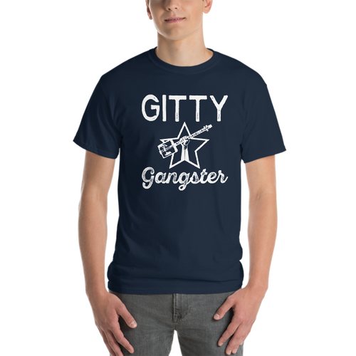 """Gitty Gangster"" Men's Short-Sleeve T-Shirt (sizes up to 5XL)"